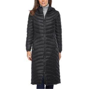 LL Bean 850 fill long down jacket - size XS